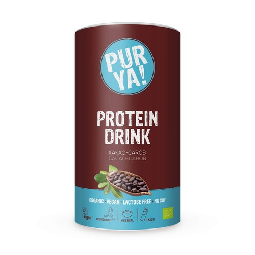 PURYA! Protein Drink Cacao – Carob